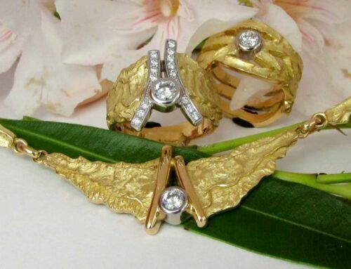Anelli e collier creati a mano