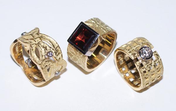 Selezione di anelli adamas