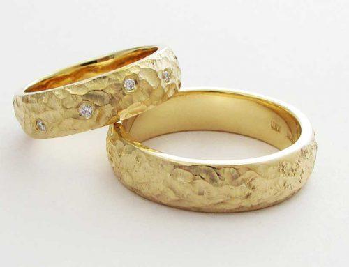 Fedi matrimoniali oro giallo Brillanti