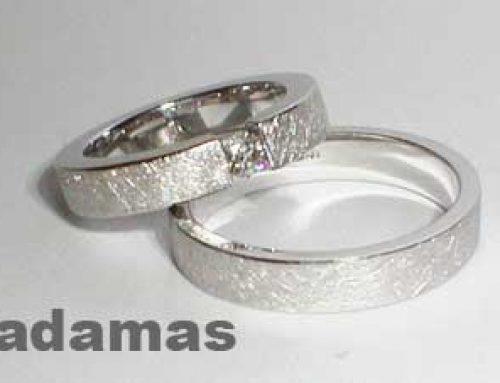 fedi matrimoniali oro bianco No 437-08