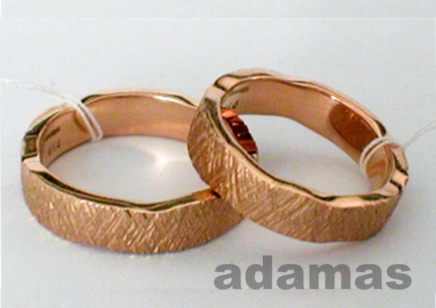 fedi matrimoniali oro rosso No 1011-07