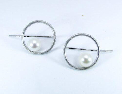Orecchini pendenti con perle adamas Locarno 1290-48